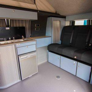 Flat Pack Campervan Furniture - Design Yours Online Now