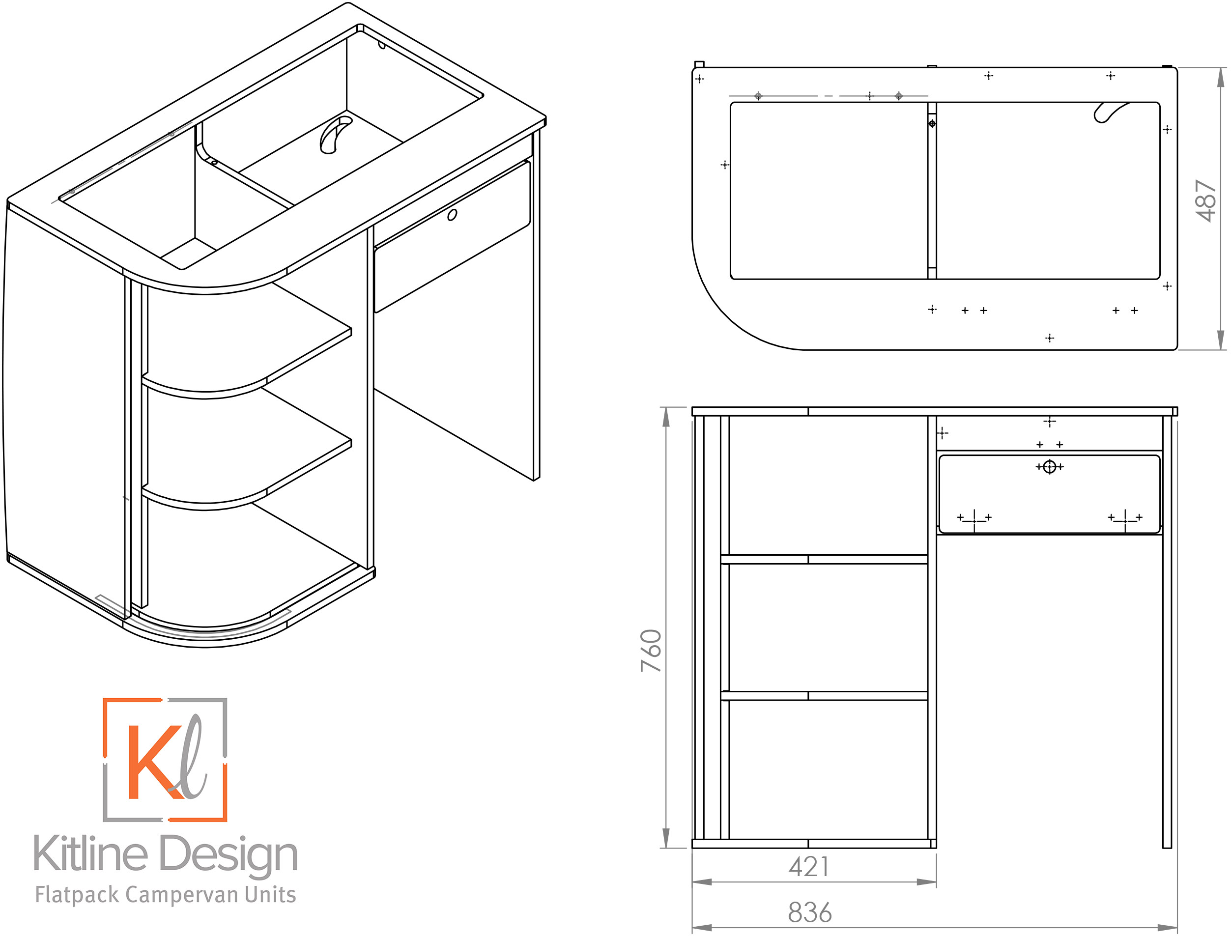 Flat Pack Campervan Furniture Design Yours Online Now